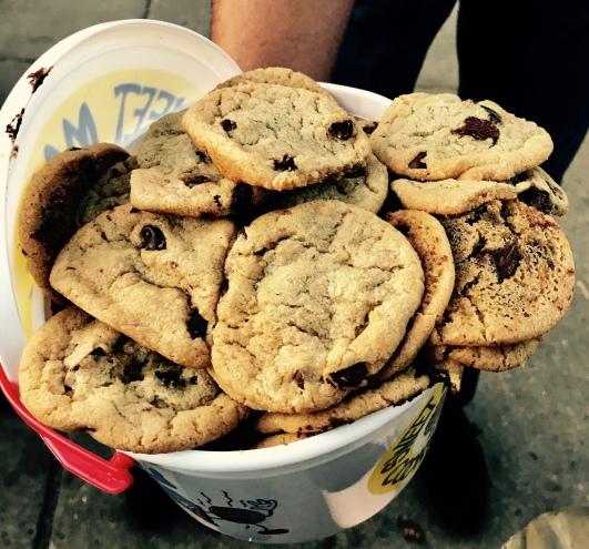 Martha's Chocolate chip cookies